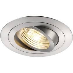 Zabudovateľný krúžok - halogénová žiarovka SLV New Tria 111360 GU10, 50 W, hliník (kartáčovaný)