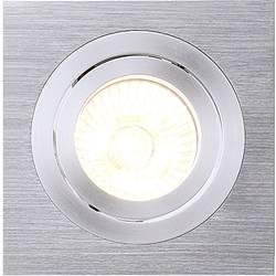 Zabudovateľný krúžok - halogénová žiarovka SLV New Tria I 111361 GU10, 50 W, hliník (kartáčovaný)