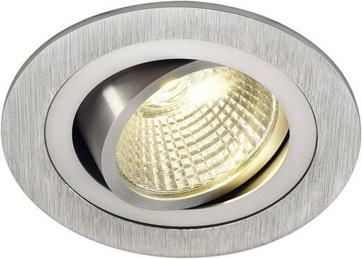 New Tria 113906 LED-Einbauleuchte 6.6 W Warm-Weiß Aluminium (gebürstet)