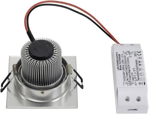 LED-Einbauleuchte 6.6 W Warm-Weiß New Tria 113916 Aluminium (gebürstet)