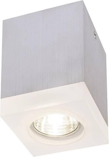 Deckenleuchte Halogen, LED GU10 35 W SLV Tilga 114740 Acrylglas matt, Aluminium
