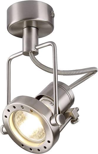 Deckenstrahler Halogen, LED GU10 50 W SLV N-TIC 131108 Chrom (matt)