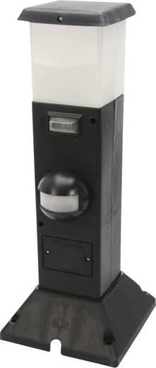 Außenstandleuchte mit Bewegungsmelder LED E14 15 W Heitronic Shanghai 35111 Schwarz