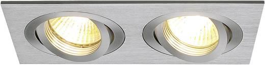 Einbauring Halogen GU10 100 W SLV 111362 New Tria II Aluminium (gebürstet)