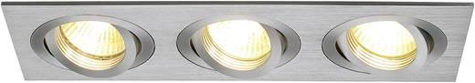 Einbauring Halogen GU10 150 W SLV 111363 New Tria III Aluminium (gebürstet)