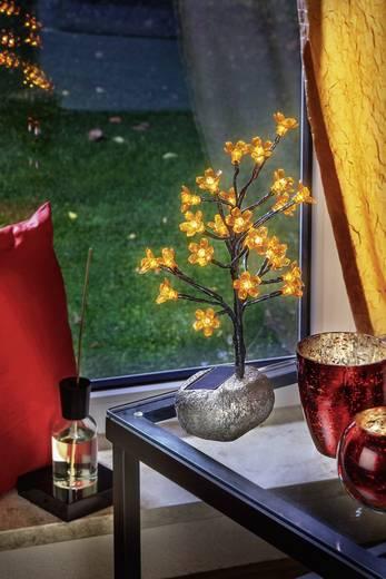 Solar-Tischlampe Warm-Weiß Esotec 102106 Bunt