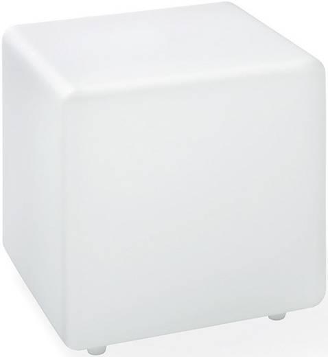 Solar-Dekoleuchte Würfel LED RGB Esotec Cube 30 102118 Weiß