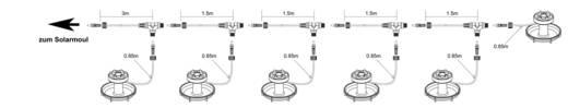 Teichbeleuchtung LED Esotec 102150 Schwarz