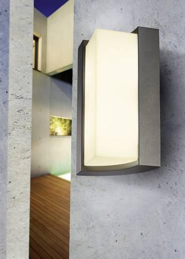 LED-Außenwandleuchte 8 W Warm-Weiß Esotec Tirano 201135 Silber-Grau