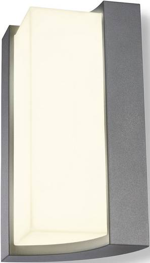 Esotec Tirano 201135 LED-Außenwandleuchte 8 W Warm-Weiß Silber-Grau