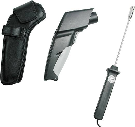 Infrarot-Thermometer testo testo 830 T2 Set Optik 12:1 -30 bis +400 °C Kontaktmessung
