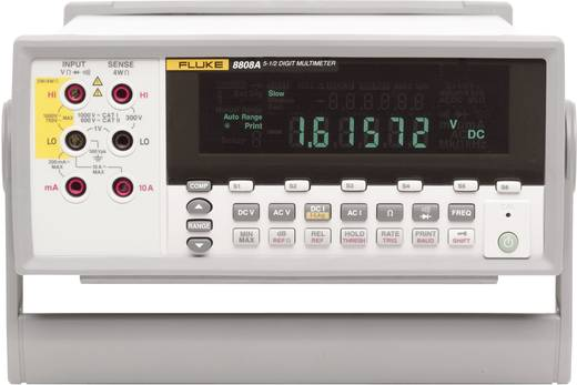 Fluke 8808A Tisch-Multimeter digital Kalibriert nach: ISO CAT II 600 V Anzeige (Counts): 20000