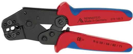 Crimpzange Isolierte Kabelschuhe, Kabelverbinder 0.1 bis 1 mm² Rennsteig Werkzeuge PEW8.63 618 063 3