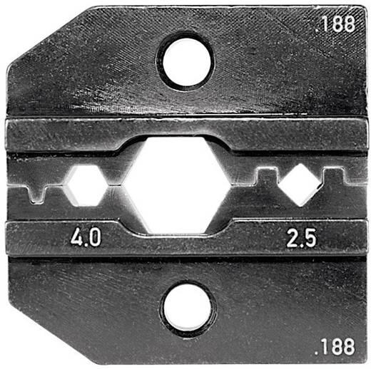 Crimpeinsatz Solar-Steckverbinder Huber & Suhner 2.5 bis 4 mm² Rennsteig Werkzeuge 624 188 3 0 Passend für Marke Renn