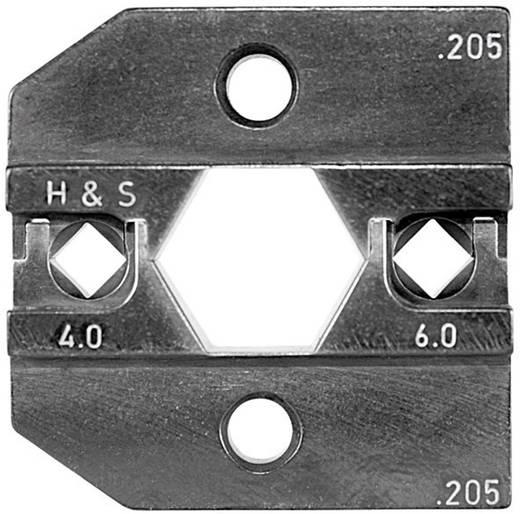 Crimpeinsatz Solar-Steckverbinder Huber & Suhner 4 bis 6 mm² Rennsteig Werkzeuge 624 205 3 0 Passend für Marke Rennst