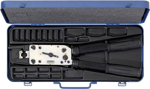 Crimpzange Presskabelschuhe, CU Presskabelschuhe, Rohrkabelschuhe, Quetschkabelschuhe ohne Isolation 6 bis 120 mm² Inkl