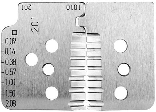 Abisolierzangen-Messer Geeignet für Leiter mit PTFE-Isolation 0.03 bis 2.08 mm² Rennsteig Werkzeuge 708 201 3 0 Pass