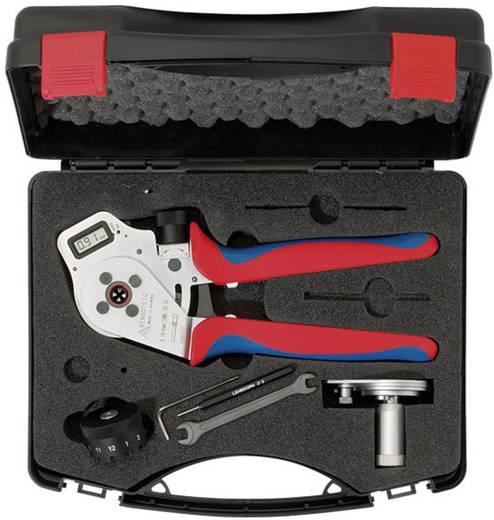 Crimpzange Gedrehte Stift- und Buchsenkontakte 0.08 bis 2.5 mm² Inkl. Kunststoffkoffer Rennsteig Werkzeuge DigiCrimp