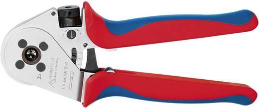 Crimpzange Gedrehte Stift- und Buchsenkontakte 0.14 bis 6 mm² Inkl. Kunststoffkoffer Rennsteig Werkzeuge MicroCrimp 8