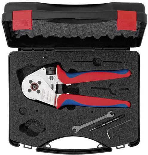 Crimpzange Gedrehte Stift- und Buchsenkontakte 1.5 bis 10 mm² Inkl. Kunststoffkoffer Rennsteig Werkzeuge MicroCrimp 8