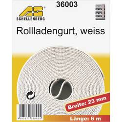 Popruhy pre rolety Schellenberg 36003, 6 m, biela, vhodné pre Schellenberg Maxi