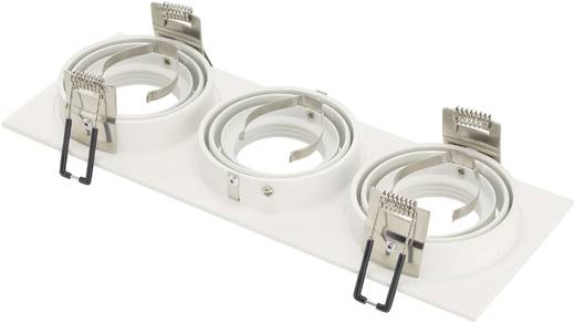 Einbauring Halogen GU10 150 W SLV 113513 New Tria III Weiß