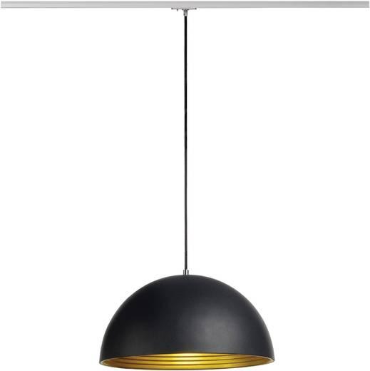 Pendelleuchte Energiesparlampe, LED E27 40 W SLV Forchini M 143930 Schwarz, Gold