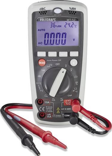 Hand-Multimeter digital VOLTCRAFT MT-52 Kalibriert nach: Werksstandard Umwelt-Messfunktion CAT III 600 V Anzeige (Counts