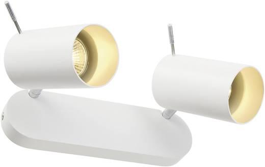 Deckenstrahler Halogen, LED GU10 150 W SLV Asto Tube II 147412 Weiß