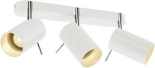 Deckenstrahler Halogen, LED GU10 225 W SLV Asto Tube III 147413 Weiß