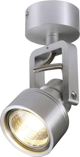 Deckenstrahler Halogen GU10 50 W SLV Inda Spot 147559 Aluminium (gebürstet)