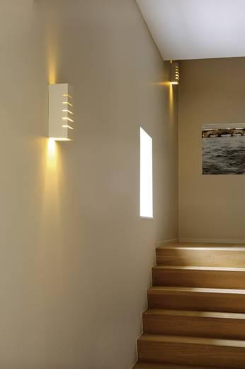 Wandleuchte E14 40 W Energiesparlampe, LED, Halogen SLV GL 100 148010 Weiß