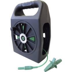 Merací kábel zástrčka 4 mm ⇔ zásuvka 4 mm Cliff CIH299450, 50 m, zelená