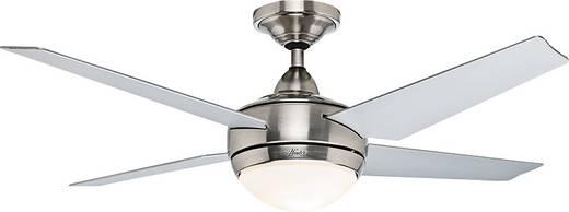 Deckenventilator Hunter Ventilateur de plafond Sonic BN (Ø) 132 cm Flügelfarbe: Grau Gehäusefarbe: Chrom (gebürstet)