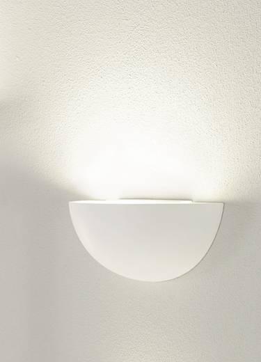 Wandleuchte E14 40 W Energiesparlampe, LED SLV GL 101 148013 Weiß