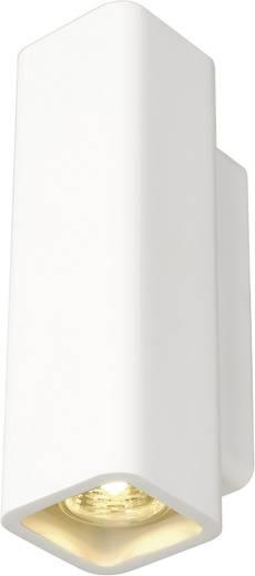 Wandleuchte GU10 70 W Halogen, LED SLV WL-1 148015 Weiß