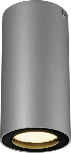 Deckenleuchte Halogen, LED GU10 35 W SLV Enola_B 151814 Grau, Schwarz