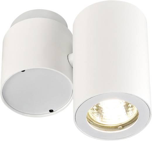 Deckenstrahler Energiesparlampe, LED GU10 50 W SLV Enola_B 151821 Weiß