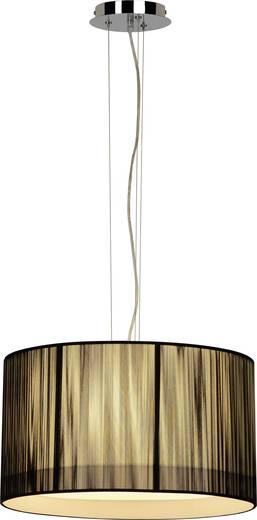 Pendelleuchte Halogen, Energiesparlampe E27 180 W SLV Lasson 155300 Schwarz, Beige
