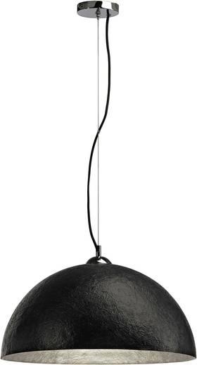 Pendelleuchte LED E27 40 W SLV Forchini 155520 Schwarz, Silber