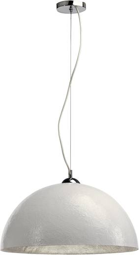Pendelleuchte LED E27 40 W SLV Forchini 155521 Weiß, Silber
