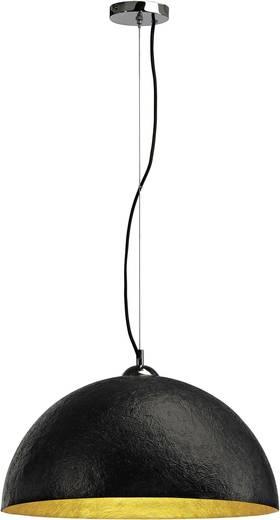 Pendelleuchte LED E27 40 W SLV Forchini 155530 Schwarz, Gold