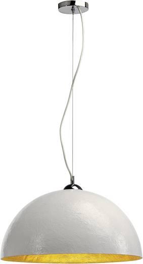 Pendelleuchte LED E27 40 W SLV Forchini 155531 Weiß, Gold