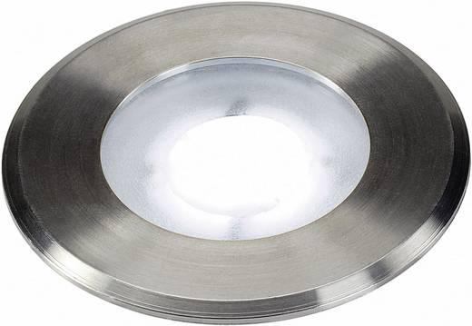 LED-Außeneinbauleuchte 4.3 W Kalt-Weiß SLV Dasa Flat 228411 Edelstahl (gebürstet)