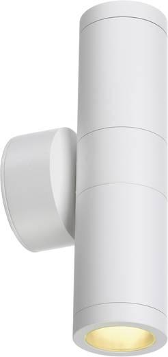 Außenwandleuchte Halogen GU10 22 W SLV Astina Out 228771 Weiß