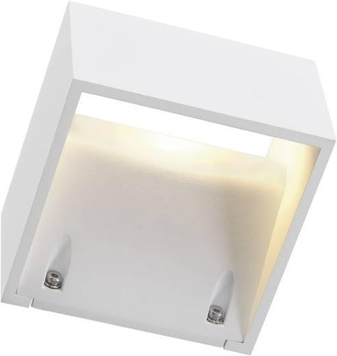 LED-Außenwandleuchte 6 W Warm-Weiß SLV Logs Wall 232101 Weiß