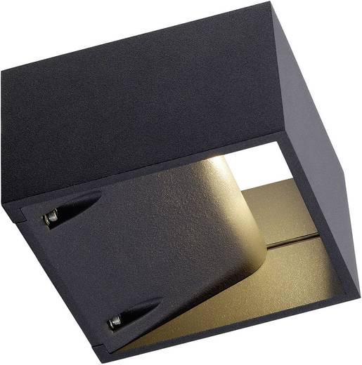 LED-Außenwandleuchte 6 W Warm-Weiß SLV Logs Wall 232105 Anthrazit