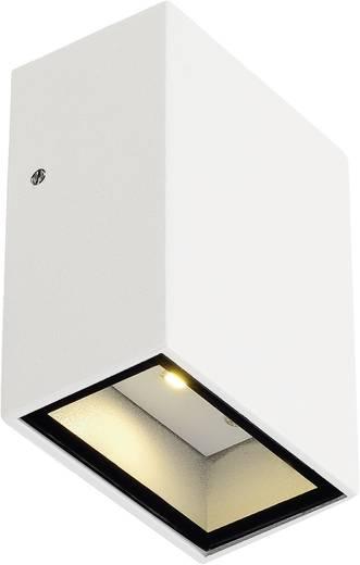 SLV Quad 1 232461 LED-Außenwandleuchte 3 W Warm-Weiß Weiß