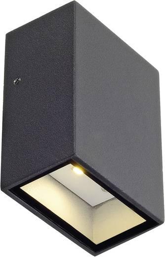 LED-Außenwandleuchte 3 W Warm-Weiß SLV Quad 1 232465 Anthrazit