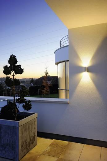 LED-Außenwandleuchte 6 W Warm-Weiß SLV Quad 2 232471 Weiß